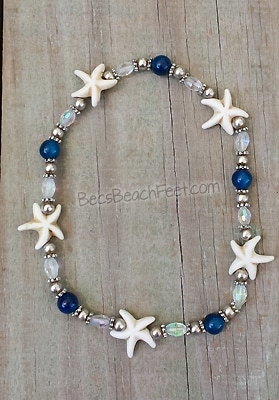 Starfish anklet first mate