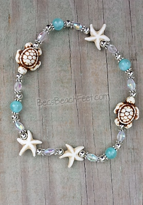 Stacker Anklet Ocean Treasures