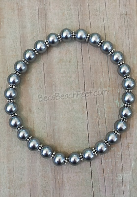 Gunmetal Grey Pearl Stacker