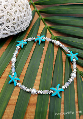 Wedding Anklet Something Blue